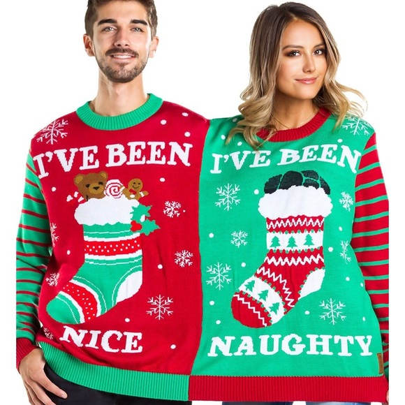 2 Person Christmas Sweater.Nwt Tipsy Elves 2 Person Christmas Sweater Nwt